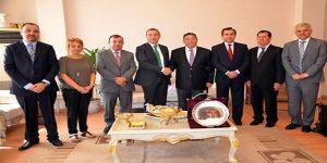 Erbil'de irtibat ofisi için ilk adım