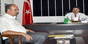 Mehmet Ünlü'den eğitim müdürüne ziyaret