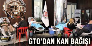 GTO'dan kan bağışı
