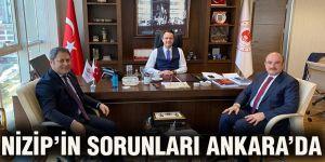 Nizip'in sorunları Ankara'da
