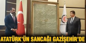 ATATÜRK'ÜN SANCAĞI GAZİŞEHİR'DE