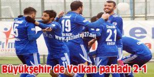 Büyükşehir de Volkan patladı 2-1
