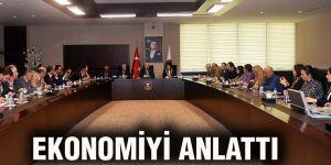 Ekonomiyi anlattı