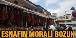 ESNAFIN MORALİ BOZUK