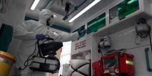 Riskli hasta taşıyan ambulanslara büyük tedbir