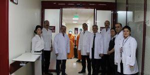 GAÜN Hastanesi tedbirlerini genişletiyor
