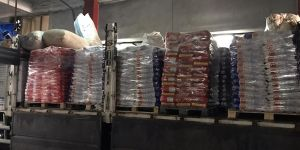 12 ton sahte deterjan ele geçirildi