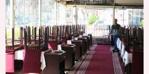 Restoranlar boşaldı,paket servis arttı