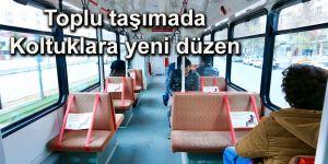 Toplu taşımada Koltuklara yeni düzen