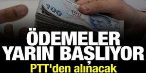 PTT'DEN İHTİYAÇ SAHİPLERİNE ÖDEMELER BAŞLIYOR