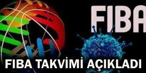 FIBA Takvimi açıkladı