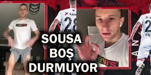 Sousa boş durmuyor