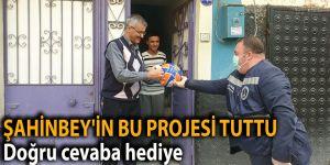 ŞAHİNBEY'İN BU PROJESİ TUTTU