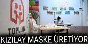 Kızılay maske üretiyor