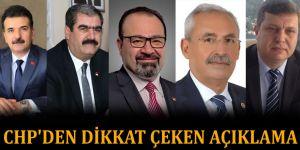 CHP'den dikkat çeken açıklama