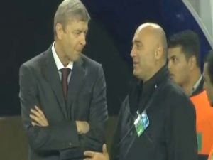 Arsen Wenger ve Hikmet Karaman