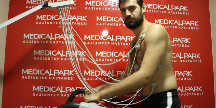 Gaziantep Basketbol sağlık kontrolünden geçti