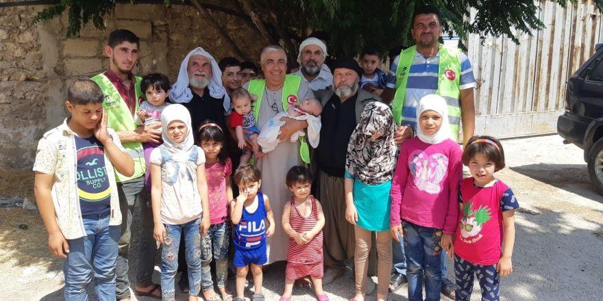 İmkander'den mazlum ve mağdurlara kurban yardımı