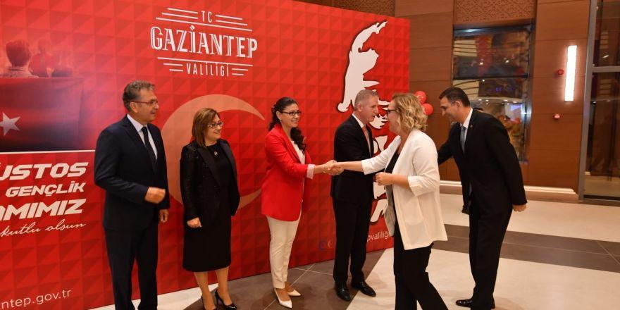 Gaziantep'te 30 Ağustos Zafer Bayramı resepsiyonu