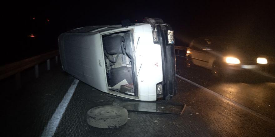 Nurdağı'nda trafik kazası: 2 yaralı