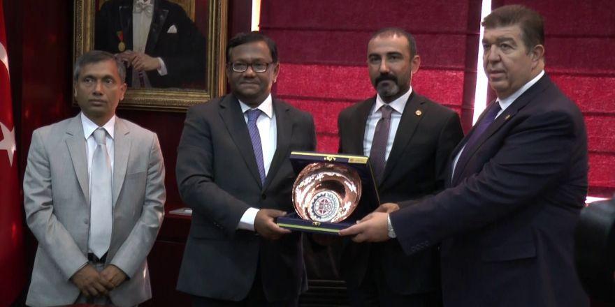 Bangladeş Büyükelçisi Sıddıkı Gaziantep'te