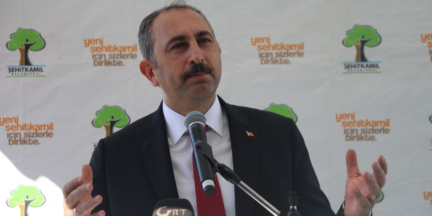 """Adalet Bakanı Abdulhamit Gül: """"Çocuklarımızı çapulculara yem ettirmeyeceğiz"""""""