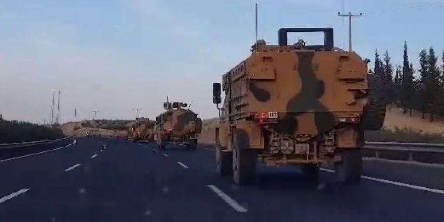 Suriye sınırına askeri sevkıyatlar sürüyor