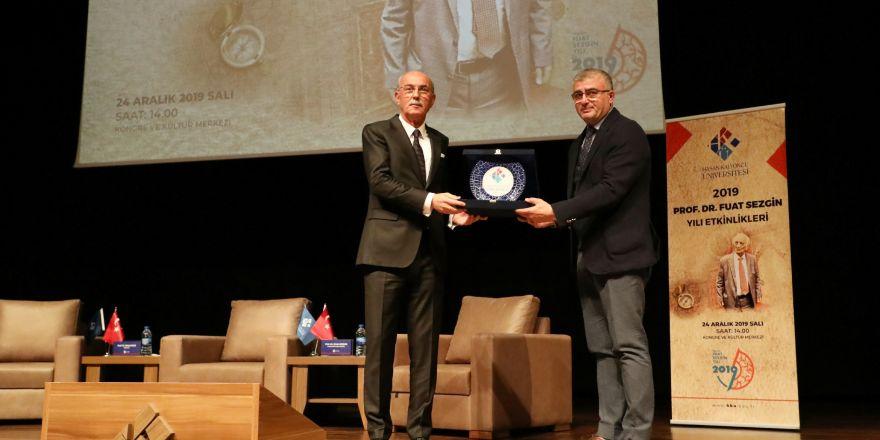 Prof. Dr. Fuat Sezgin, HKÜ'de düzenlenen etkinlikle anıldı