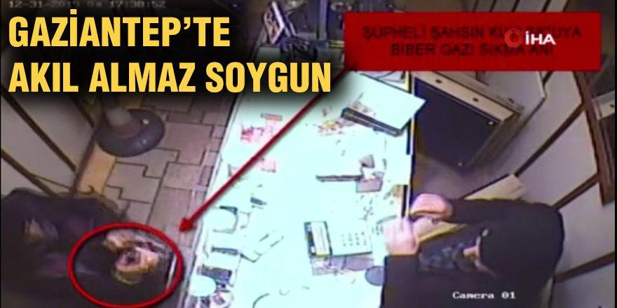 Gaziantep'te akıl almaz soygun