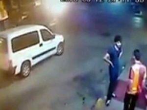 Taraftar cinayeti kameraya yansıdı