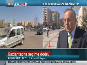 Seçimin nabzı Gaziantep