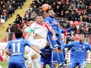 Samsunspor - Gaziantep Belediye 0-3