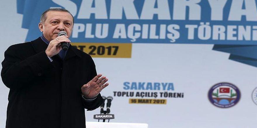 Erdoğan: Ne geri kabulü? Geç onları geç!
