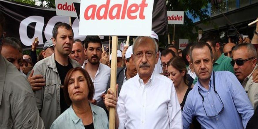 CHP'den ''Adalet Yürüyüşü''
