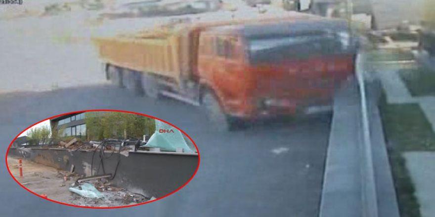 Felaket kamyonları!.. O kamyonlardan biri bu kez Sarıyer'de ortaya çıktı!