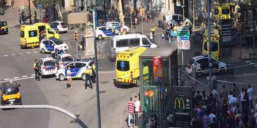 Barselona'da minibüs dehşeti!