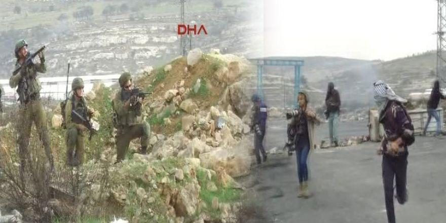 Ramallah'da sert müdahale!
