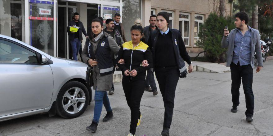 7 suçtan sabıkalı kadın tutuklandı