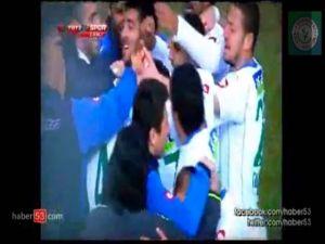 Gaziantep Büyükşehir Belediyespor-Çaykur Rizespor 1-4