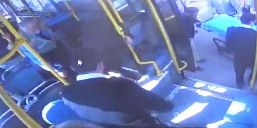 Şoför yolcunun hayatını kurtardı