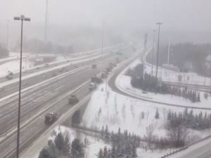 Toronto belediyesinin kar açma çalışmaları!