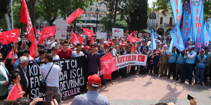 Gaziantep'te 1 Mayıs kutlamaları