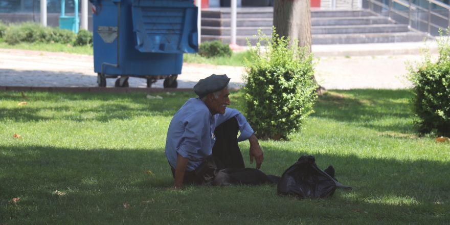 Aşırı sıcaklardan etkilenen vatandaşlar parklara sığındı