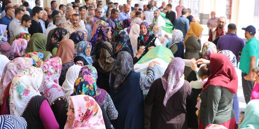 Şanlıurfa'da öldürülen 4 kişi Gaziantep'te toprağa verildi