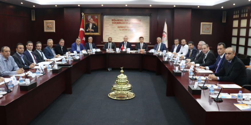Bölgesel Kalkınmada Güç Birliği Platformu Gaziantep'te toplandı