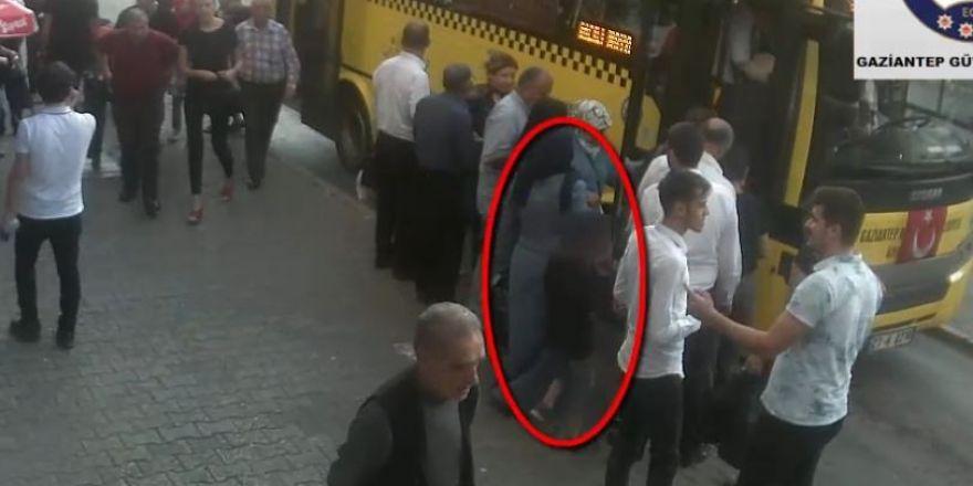 Otobüslerde yankesicilik yapan çocuk yakalandı