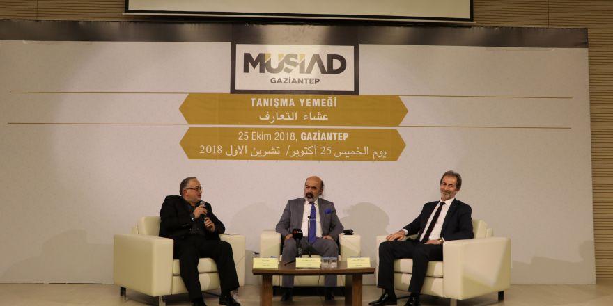 Türk ve Arap iş adamları MÜSİAD'da buluştu
