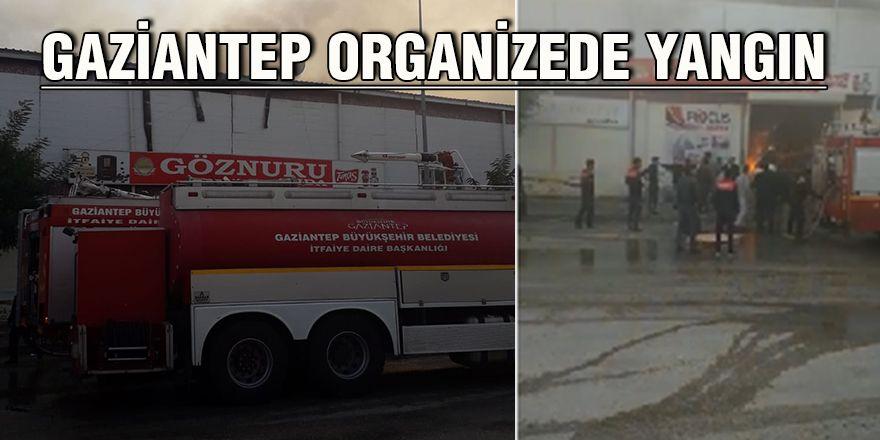 Gaziantep Organizede yangın