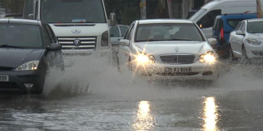 Gaziantep'te sağanak yağmur