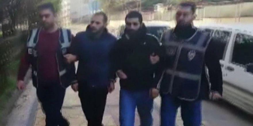 Cezaevi firarisi çaldığı araçla yakalandı